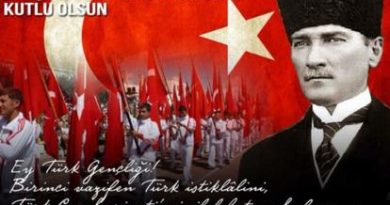 19 Mayıs Atatürk'ü Anma Gençlik ve Spor Bayramı'nın bu yıl 102. yıl dönümü Kutlu olsun